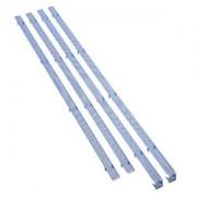 Mesh Stripes Bitfenix pentru carcasa Shinobi XL, culoare albastru inchis