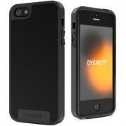 Husa de protectie Cygnett Apollo Hybrid pentru iPhone SE/5s/5, Black/Grey