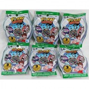 6 Blind Bags: Yo-Kai Watch Series 3 Medals - 18 Random Medals