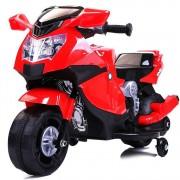 kid go Moto Da Corsa Motocicletta Elettrica 6v Rossa Per Bambini