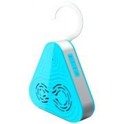 Pyle Haut-parleur Bluetooth Etanche sans fil à 3 Voies pour Douche/Piscine Bleu