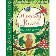 Monkey Puzzle Sticker Book by Julia Donaldson