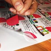 Hojas adhesivos PVC, A4, cartón 5-10-15-20-25 de vinilo para impresoras láser, transparente