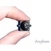 Anykam Farb Mini Knopf - getarnte versteckte Kamera, Spycam, Spionkamera