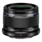 Olympus M.ZUIKO DIGITAL 25mm f/1.8 ES-M2518 negru
