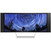 """Monitor VA LED HP 34"""" ENVY 34c, WQHD (3440 x 1440), HDMI, MHL-HDMI, DisplayPort, 8ms GTG, Curbat, Boxe (Argintiu)"""