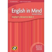 English in Mind for Spanish Speakers Level 1 Teacher's Resource Book with Audio CDs (3) by Brian Hart