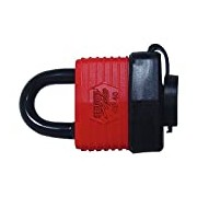 Security Plus 12024501 Padlock Outdoor Black and Red
