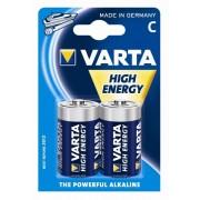 Varta High Energy Baterii C Alcaline LR14