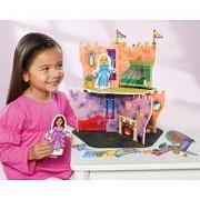 Velcro Kids (Tm) Royal Princess Castle Fantasy Deluxe Playset