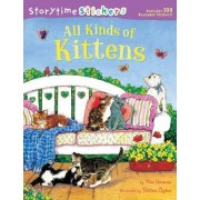 Storytime Stickers: All Kinds of Kittens by Kim Norman