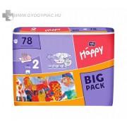 BELLA BABY HAPPY MINI 3-6KG 78 db/cs