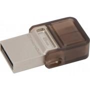 Kingston DataTraveler Micro Duo OTG 8 GB(Grey)