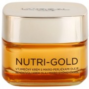 L'Oréal Paris Nutri-Gold creme nutritivo com micropérolas de óleo Nourishing Cream with Micro-beads of Oil 50 ml