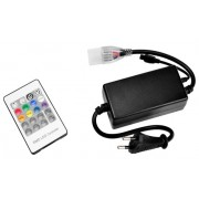 Kit de conexión con controlador incorporado para tira LED RGB a 220V