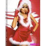 Vestito Babba Natale Santa Lady