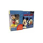 Disney Mickey My Storybook Library 6 Books With Mickey Toy