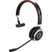 Jabra EVOLVE 65 MS Mono Monauraal Hoofdband Zwart hoofdtelefoon