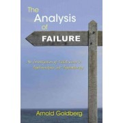 The Analysis of Failure by Arnold Goldberg