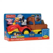 Amazing Fisher Price Little People Lil Movers Tow N Pull Tractor