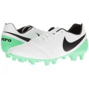 Nike Tiempo Mystic V FG WhiteBlackElectro Green