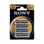 Pilas AA Zinc-Carbon SONY pack 4 uds (SUM3NUB4A)
