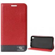 DMG Lenovo S850 Flip Cover, DMG PRaiders Premium Magnetic Wallet Stand Cover Case for Lenovo S850 (Red)