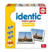 Educa Identic Műemlékek memória játék, 110 darabos