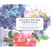 Hydrangeas Sticky Notes by Atelier Mineeda