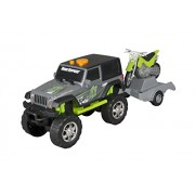 Toy State Road Rippers Light And Sound Sport Trailer With Vehicle