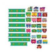 ABC Train & Tracks- Alphabet Felt Figures for Flannel/Bulletin Board