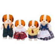 Epoch Sylvanian Families Sylvanian Family Doll Family Of Chiffon Dog Fs-11 (Japan Import)