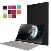 Xinda Lenovo Yoga Tab 3 10,1/f, X50l karst CY-sottile, pieghevole, con custodia in pelle con funzione di supporto per tablet Lenovo Yoga X50l Tab 3 10,1/f