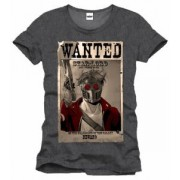 Tricou - Guardians of the Galaxy - Wanted Star Lord