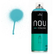 Spray Nou Colors 400ml Azul Claro