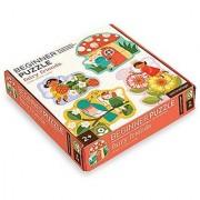 Petit Collage Beginner Jigsaw Floor Puzzle Fairy Friends