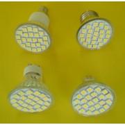 Spot cu 24x5050-SC,E27,E14,MR16,GU10