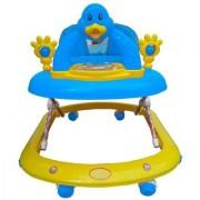 Ehomekart Blue Dora Adjustable Musical Walker for Kids