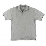 Site Pepper Polo Shirt, grau-meliert Gr. XL