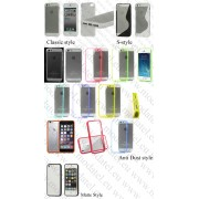 Apple iPhone 5 (калъф HYBRID) ТПУ/пластик