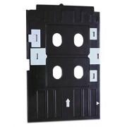 Genuine Black PVC ID Card Tray for Epson L-800,L-805,L810,R-260,R-280,R290,T-50,T-60,P-50 Inkjet Printer +FREE SOFTWARE CD