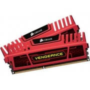 Memorie Corsair Vengeance 8GB Kit 2x4GB DDR3 2133MHz CL11 Red
