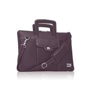 "Carry Case, Urbano Genuine Premium Cowhide Brief 15"", кожена чанта, Лилав (13444)"