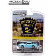 2011 Ford Mustang GT County Roads Series 10 2014 Greenlight 1:64 Scale Limited Edition Die-Cast Vehicle