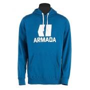 Armada Classic Sweat à capuche Modèle classique Unisexe Bleu Bleu petit