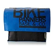 Basil Kids' Double Pannier Bag, Gepäckträgertasche Transport Kids-Double Bag, blue / black
