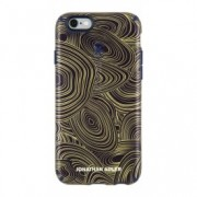 iPhone 6/6s Candyshell Inked Johnathan Adler MalachiteBlackGold/BerryBlack Metallic