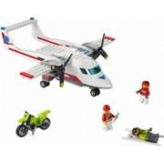Set Constructie Lego City Avion Sanitar