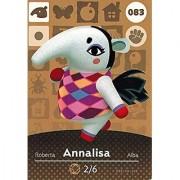 Animal Crossing Happy Home Designer Amiibo Card Annalisa 083/100