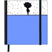 Teneues SoftTouch Silhouettes Rainy Day Cahier 10 x 10 cm Blanc